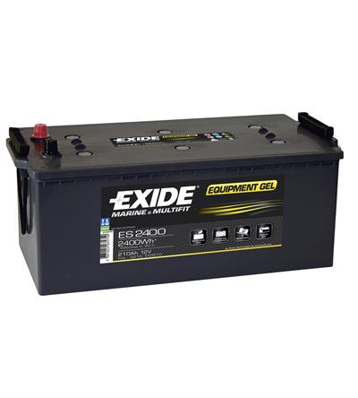 Exide Equipment ES2400 Jel Akü